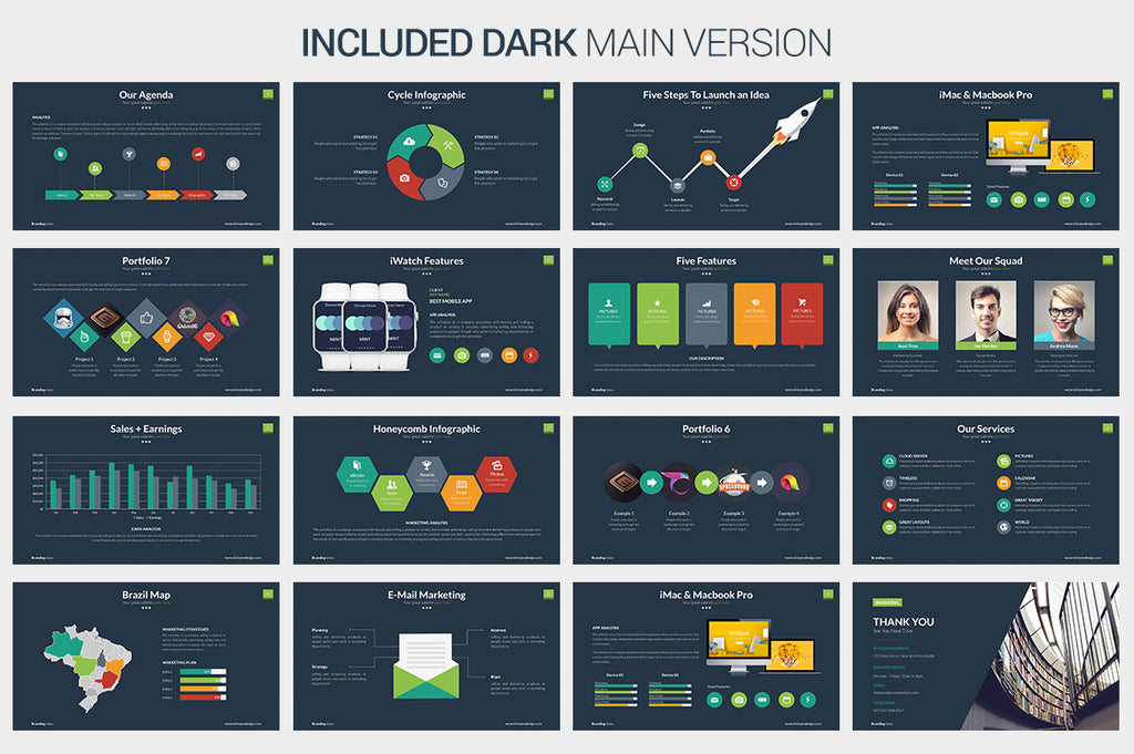 Branding Powerpoint Template - Presentation Templates on Slideforest