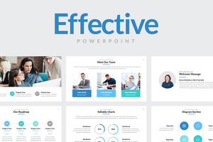 Effective PowerPoint Template - Presentation Templates on Slideforest