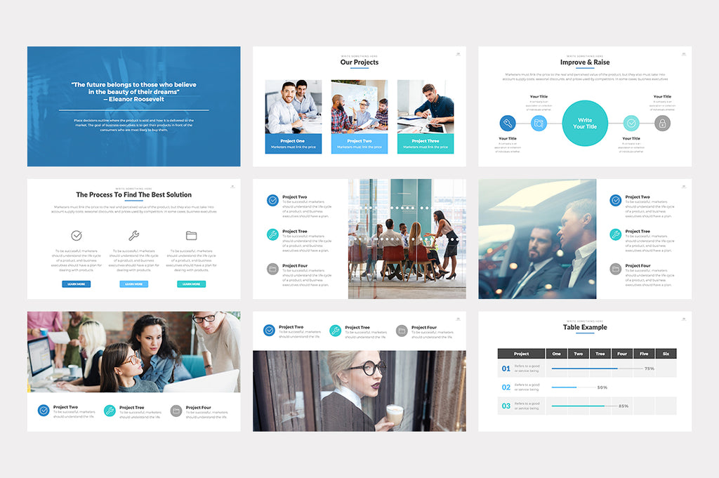 Effective PowerPoint Template