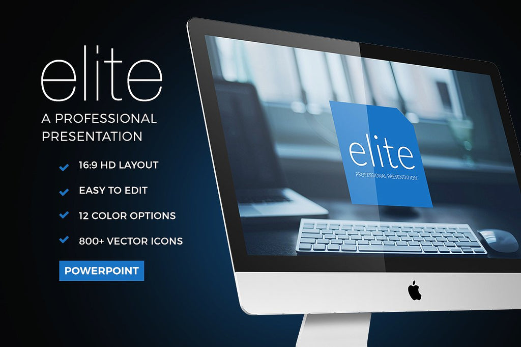 Elite Powerpoint Template - Presentation Templates on Slideforest