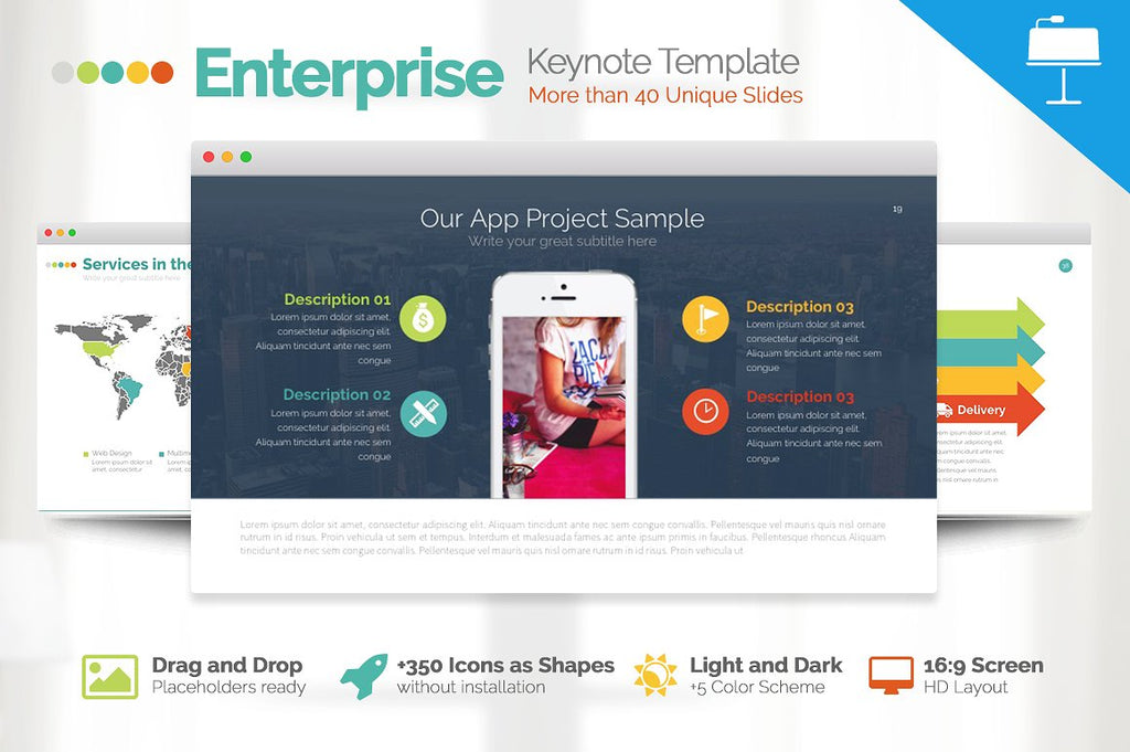 Enterprise Keynote Presentation - Presentation Templates on Slideforest