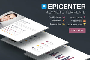 Epicenter Keynote Template - Presentation Templates on Slideforest