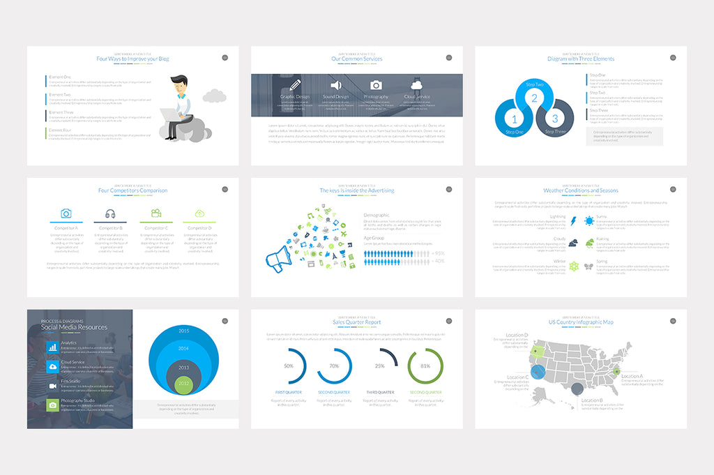 Essential Powerpoint Template