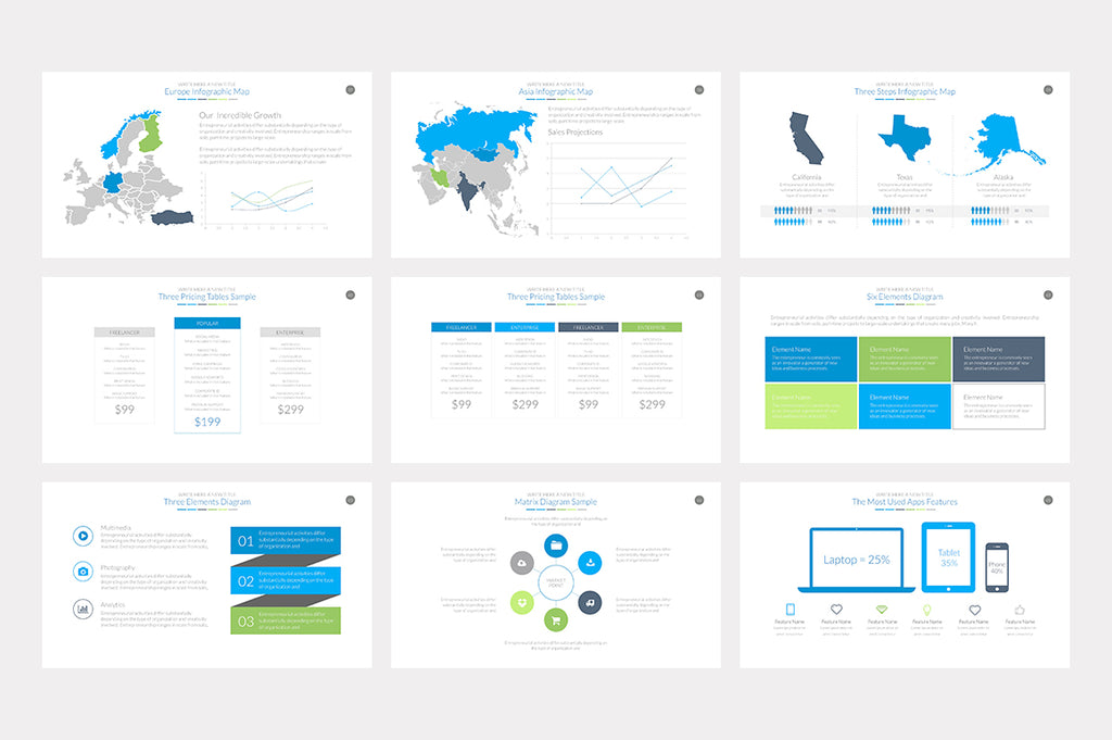 Essential Powerpoint Template - Presentation Templates on Slideforest