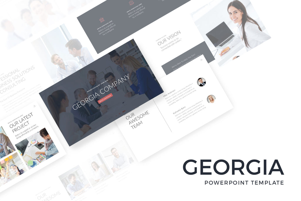 Georgia PowerPoint Template