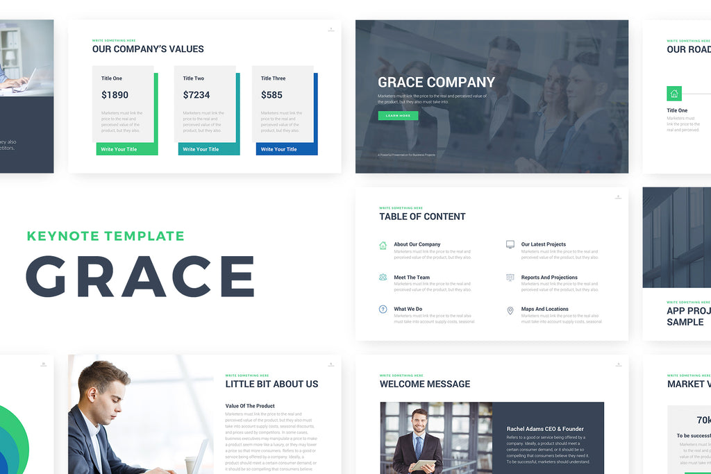 Grace Keynote Template