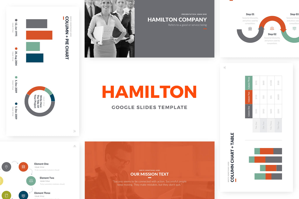 Hamilton Google Slides Template