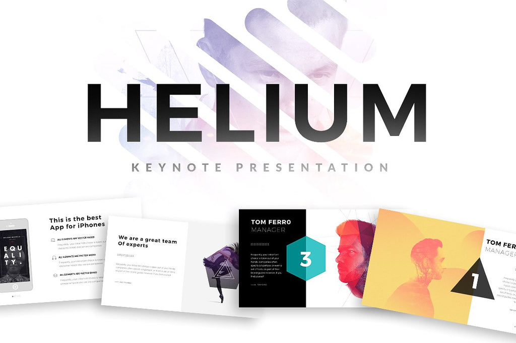 Helium Keynote Template - Presentation Templates on Slideforest