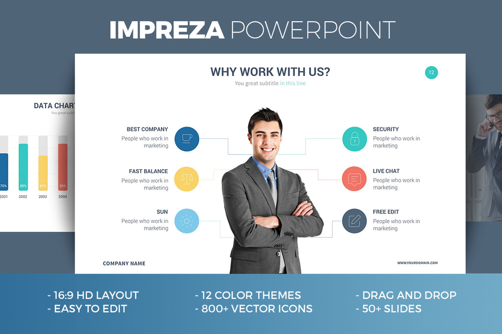 IMPERIO Powerpoint + Keynote + Google Slides Templates - Presentation Templates on Slideforest