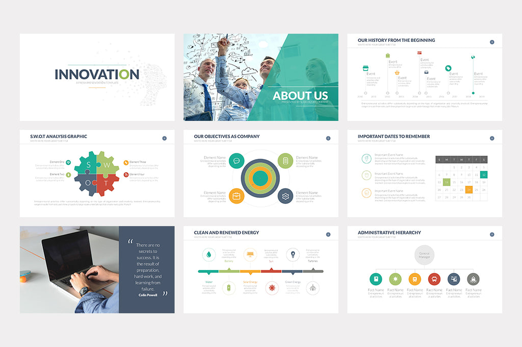Innovation Keynote Template - Presentation Templates on Slideforest