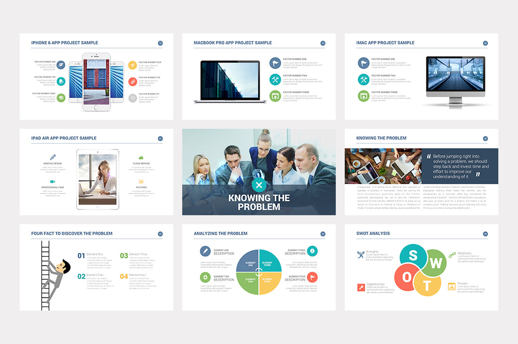Investor Pitch Deck Keynote Template - Presentations on Slideforest
