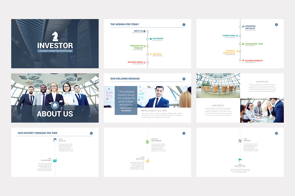 Investor pitch deck powerpoint template presentations on slideforest investor pitch deck powerpoint template investor pitch deck powerpoint template wajeb Gallery