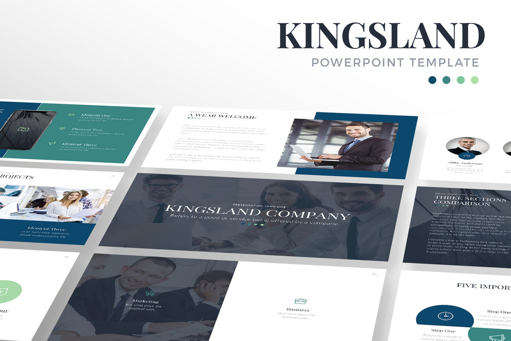 Kingsland PowerPoint Template