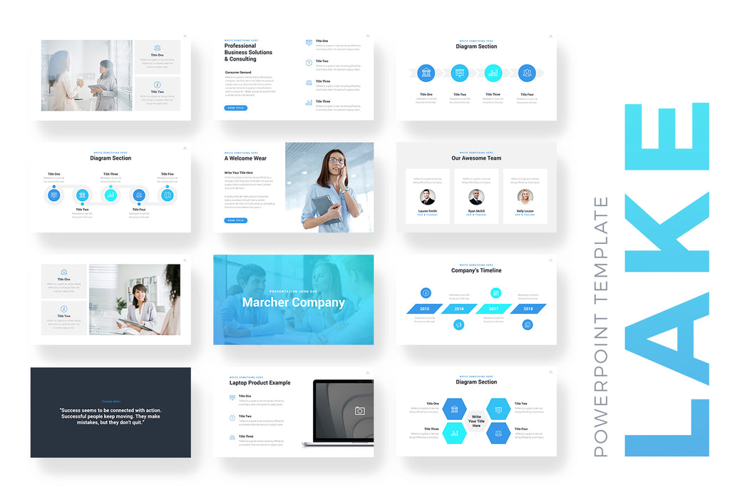 Lake PowerPoint Template