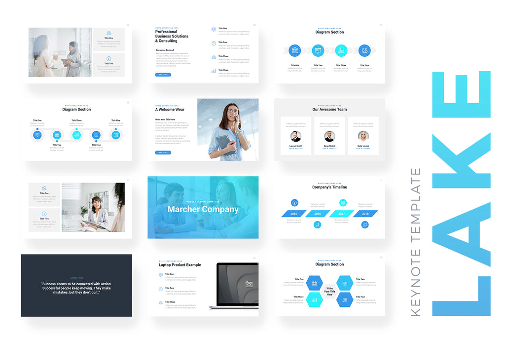 Lake Keynote Template