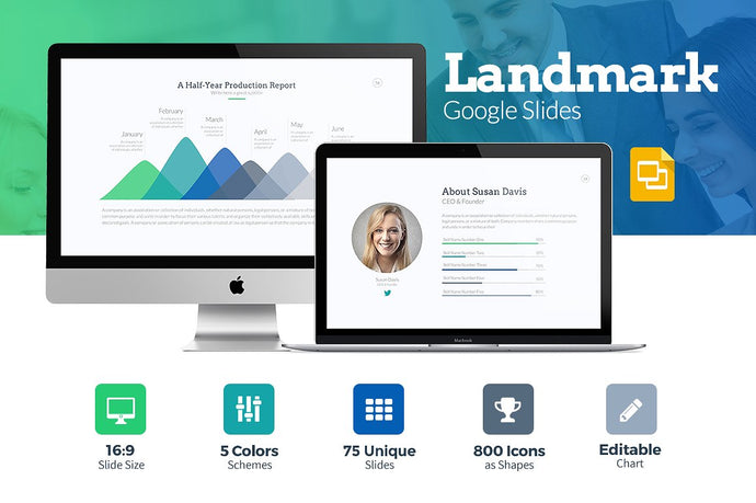 Landmark Google Slides Template - Presentation Templates on Slideforest