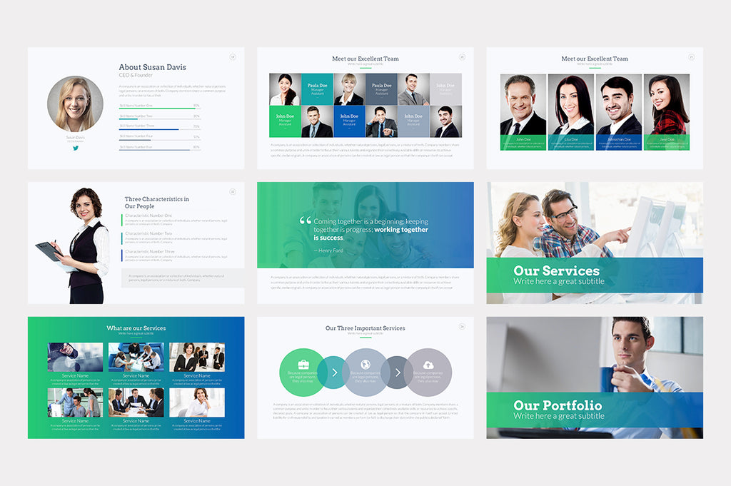 Landmark PowerPoint Template - Presentation Templates on Slideforest