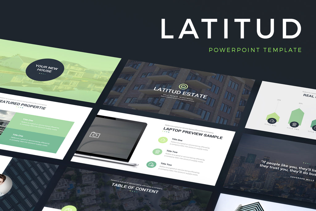 Latitud PowerPoint Template