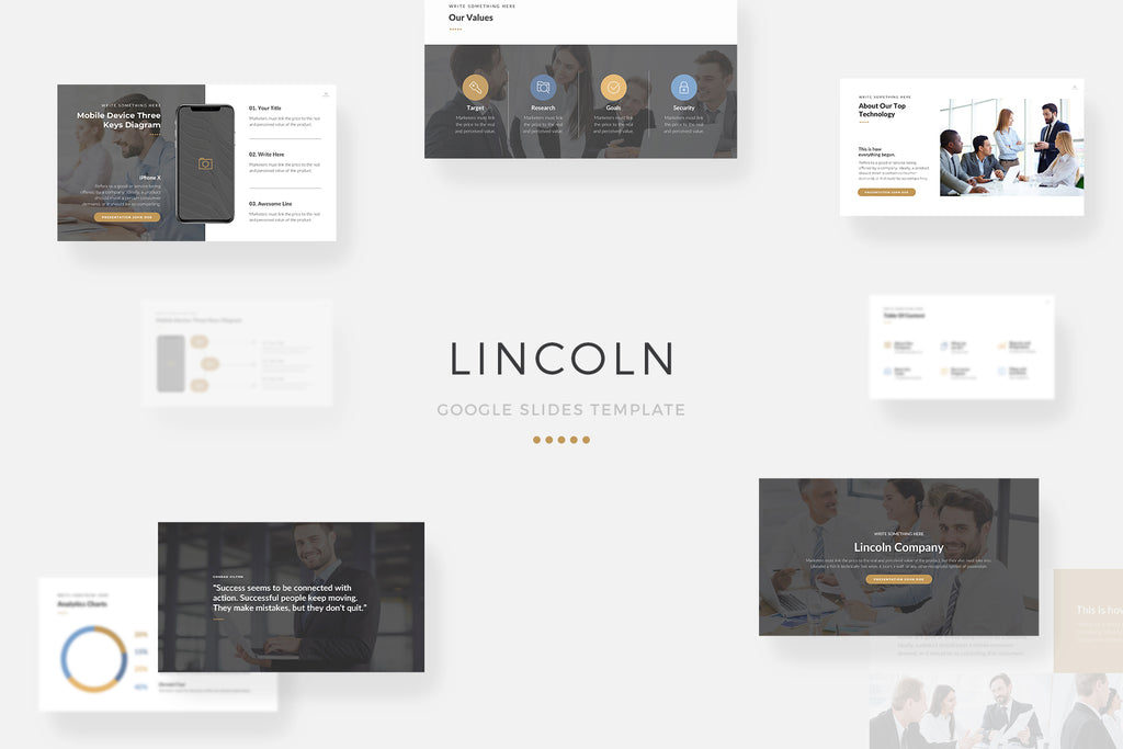 Lincoln Google Slides Template