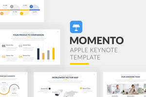 Momento Keynote Template - Presentation Templates on Slideforest