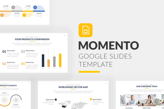 Momento Google Slides Template