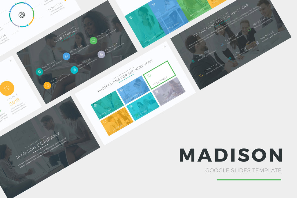 Madison Google Slides Template