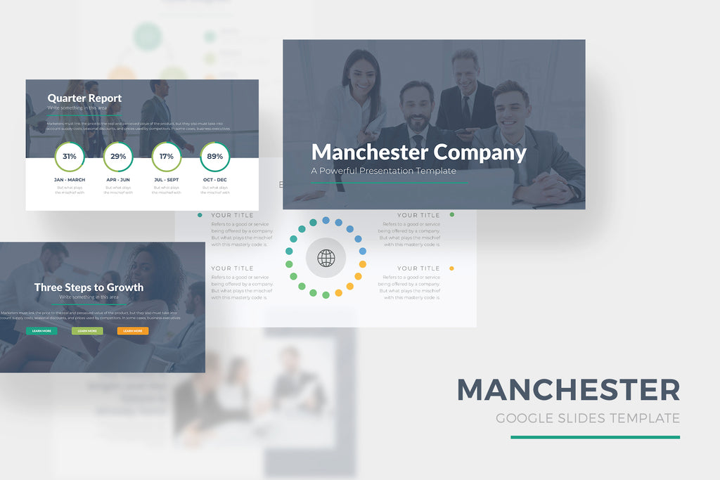 Manchester Google Slides Template