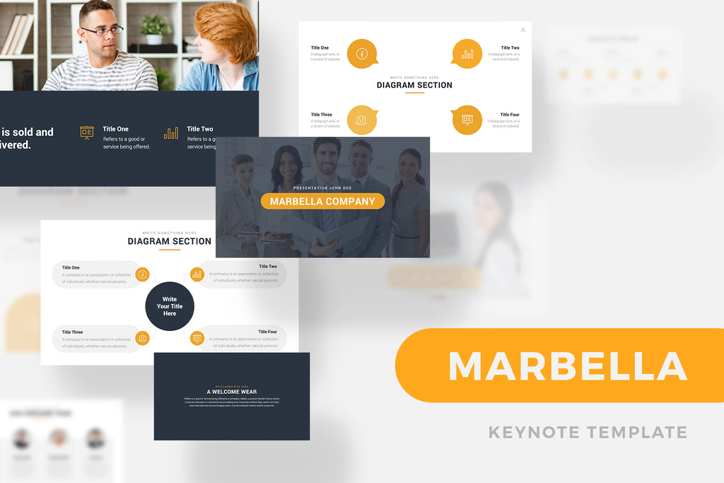 Marbella PowerPoint Template
