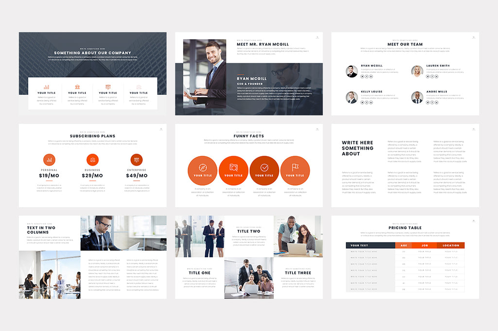 Marcher PowerPoint Template