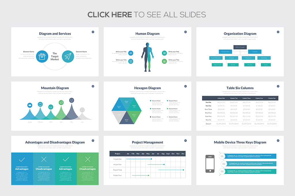 Marketing Pitch Deck Google Slides Template