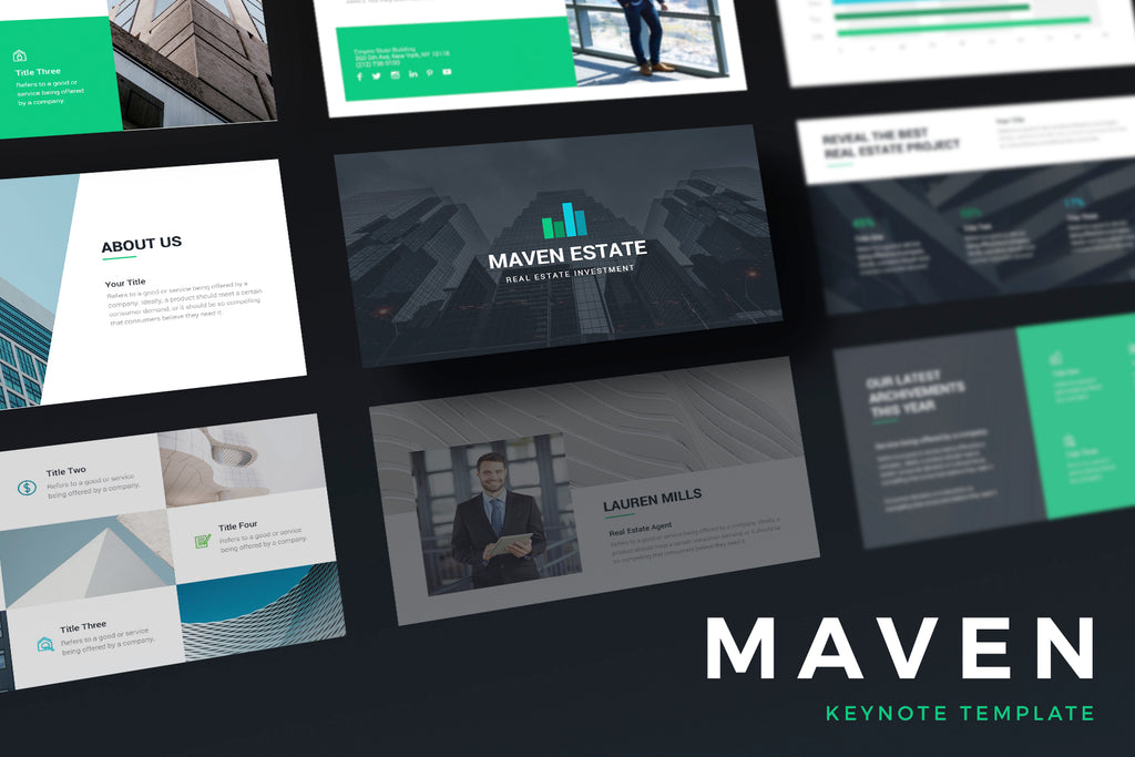 Maven Keynote Template