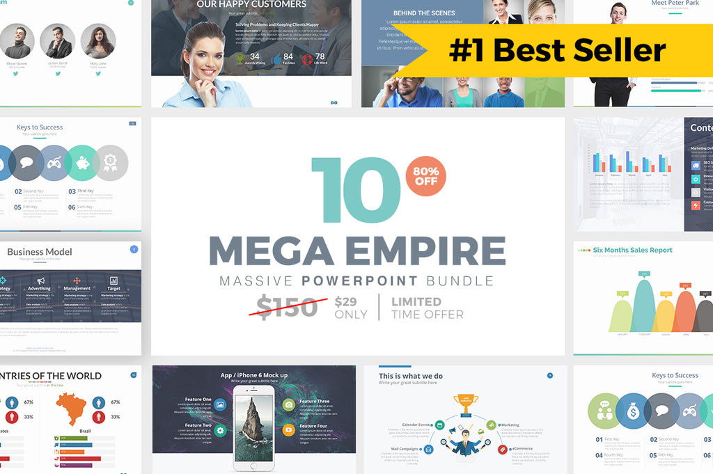MEGA EMPIRE Powerpoint + Keynote Templates - Presentation Templates on Slideforest