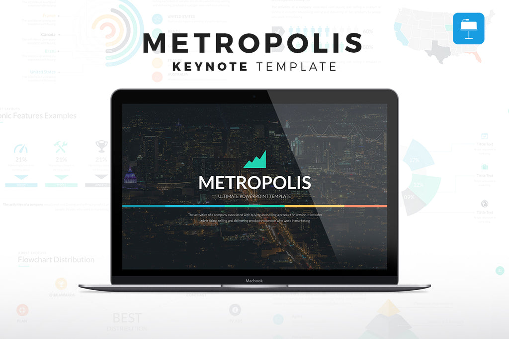 Metropolis Keynote Template - Presentation Templates on Slideforest