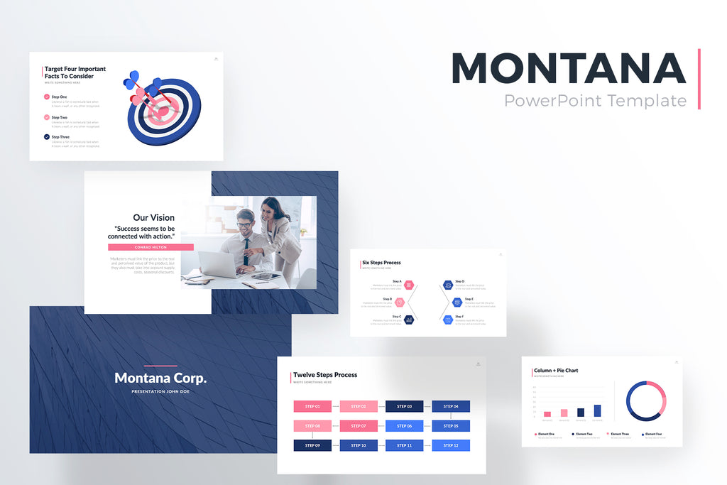 Montana PowerPoint Template