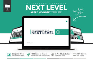 Next Level Keynote Template - Presentation Templates on Slideforest