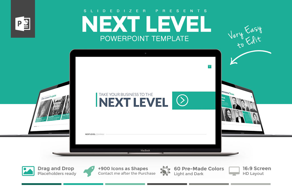 Next level powerpoint template slideforest next level powerpoint template toneelgroepblik Gallery