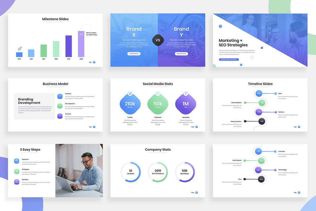 Noor Gradient Keynote Template