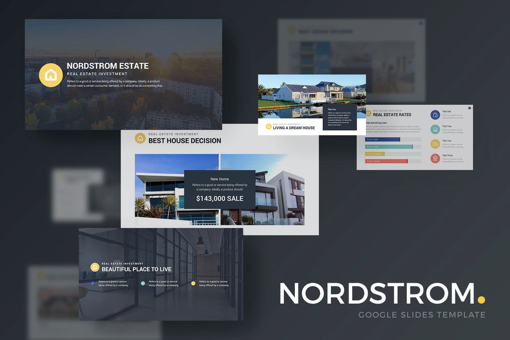 Nordstrom Google Slides Template