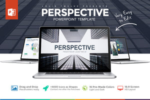 Perspective Powerpoint Template - Presentation Templates on Slideforest