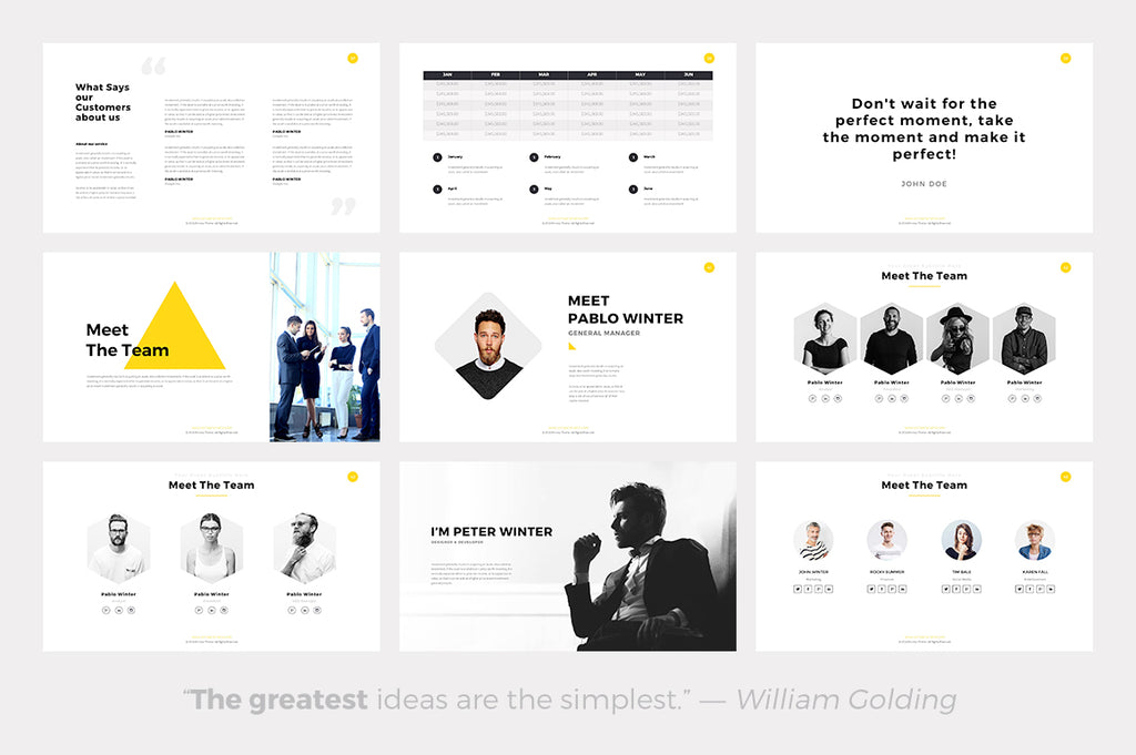 Phlox Minimal Keynote Template - Presentation Templates on Slideforest