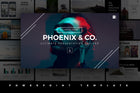 Phoenix Minimal Powerpoint Template - Presentation Templates on Slideforest