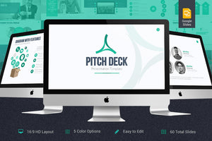 Pitch Deck Google Slides Template - Presentation Templates on Slideforest