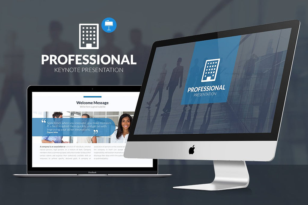 Professional Keynote Template - Presentation Templates on Slideforest