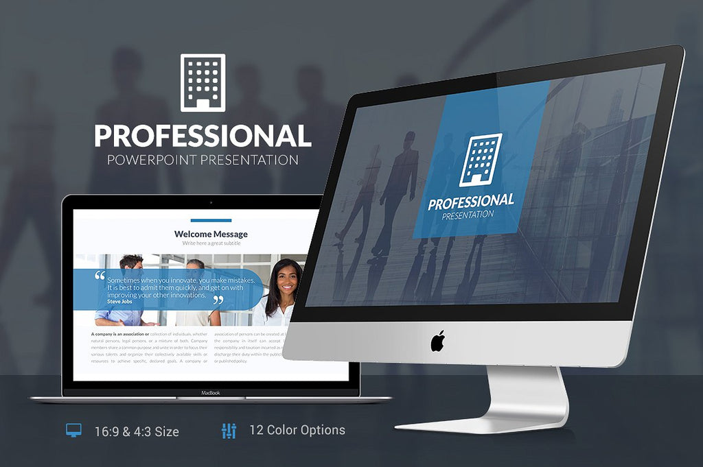 Professional Powerpoint Template - Presentation Templates on Slideforest