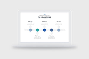 Eight Roadmap PowerPoint Slide Templates - Presentation Templates on Slideforest