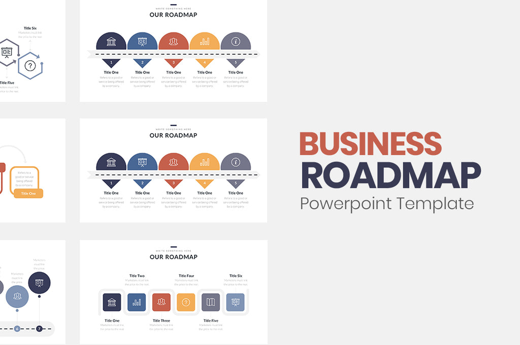 Business Roadmap Powerpoint Template - Presentation Templates on Slideforest
