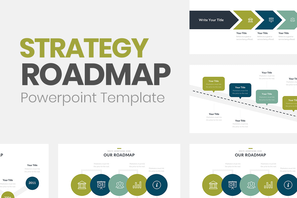 Strategy Roadmap Powerpoint Template Slideforest