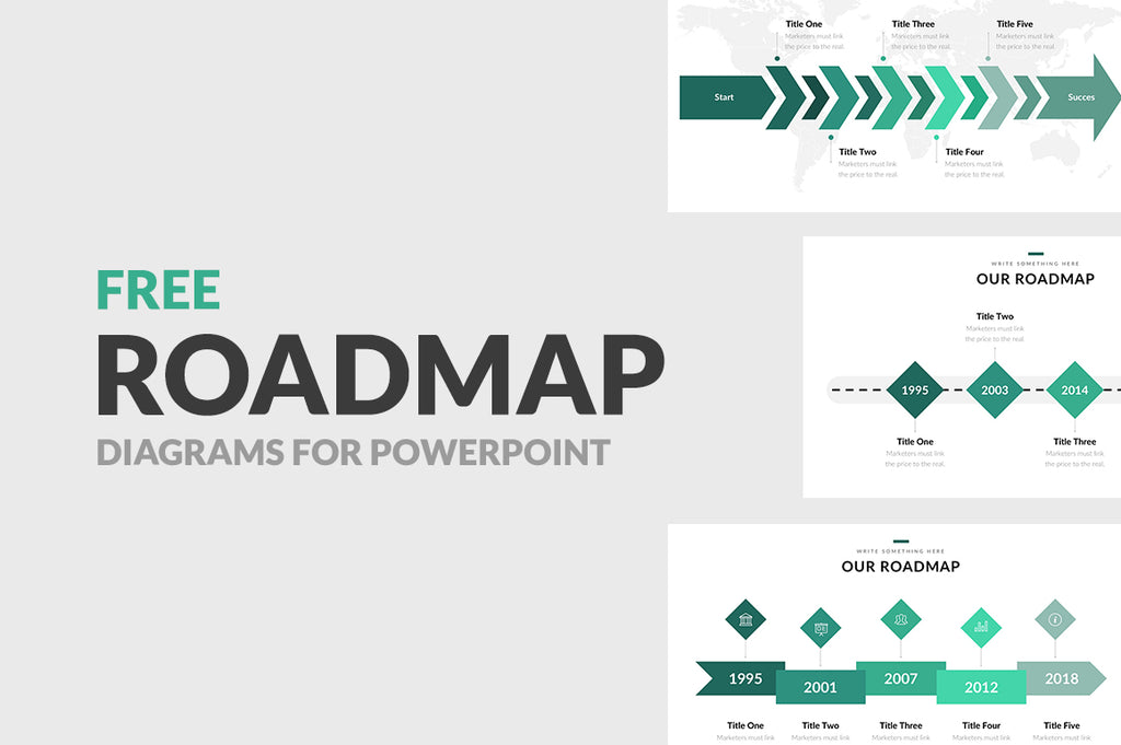 Free Roadmap Diagrams for PowerPoint - Presentation Templates on Slideforest