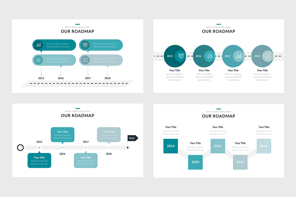 Roadmap Step by Step Powerpoint Slides - Presentation Templates on Slideforest