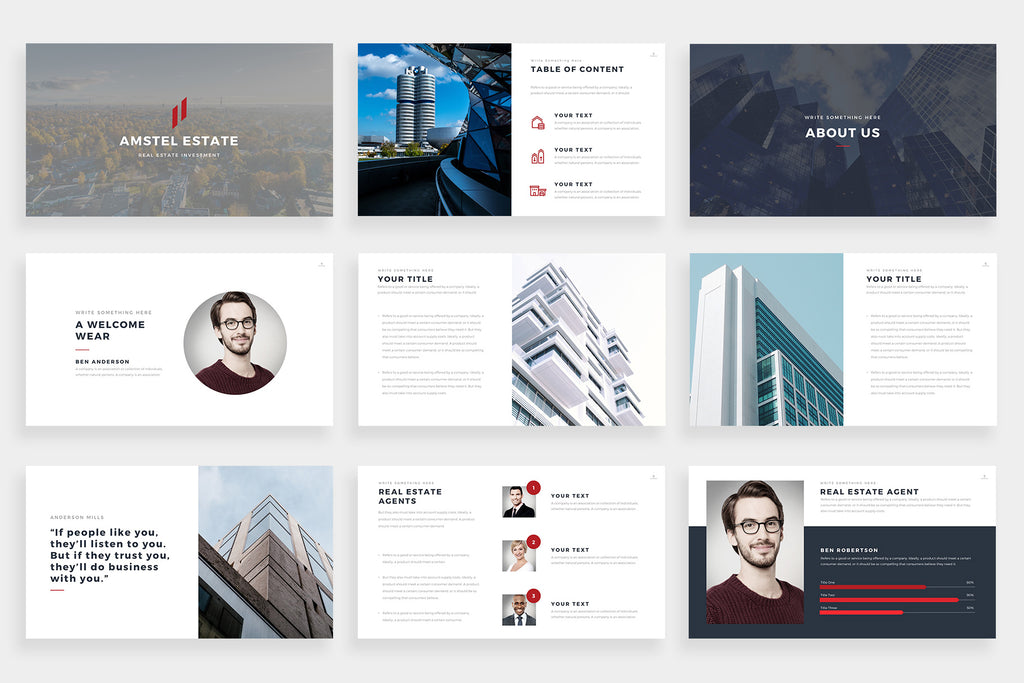 Amstel PowerPoint Template